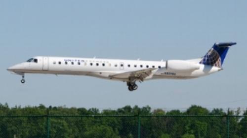 United Express ERJ145. Photo courtesy of FlightRadar24.