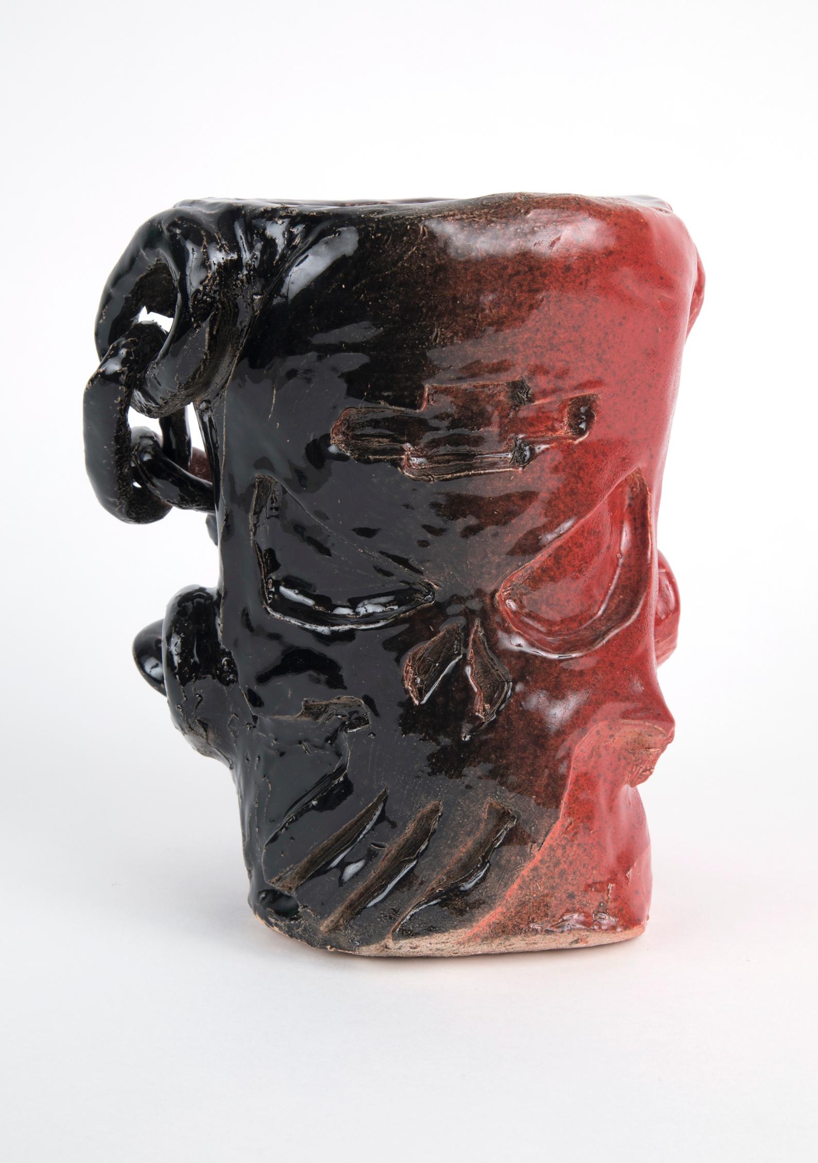 Chevy Punisher, 2018  glazeware  8x10x7 inches