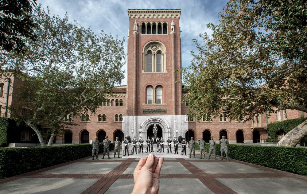 70 years and counting - Click for the rich history of Air Force ROTC at USC