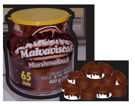 Angelitos Recubiertos de Chocolate