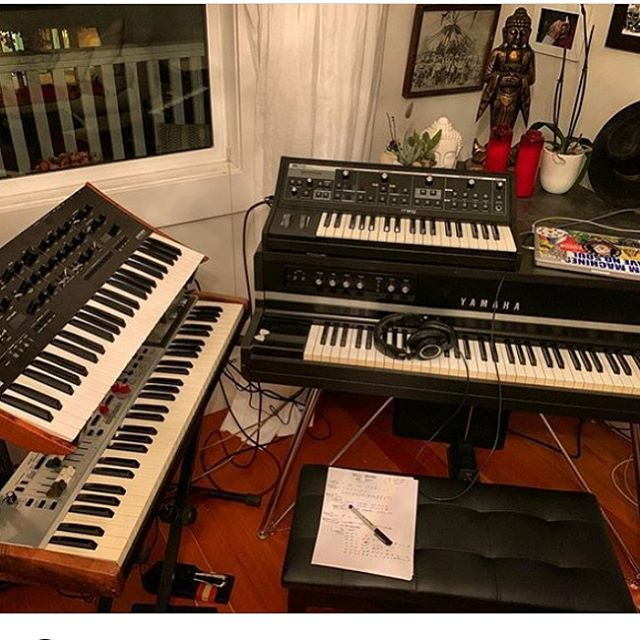 Big sounds in the works for DQ 3. Get ready for take off... #deadquietband #dq3 #truthandruin #doom #stonerrock #prog #heavymetal #rockandroll #keyboards #synth #party