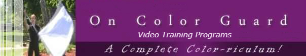 The On Color Guard Video training series is designed for building skills for contemporary color guard!