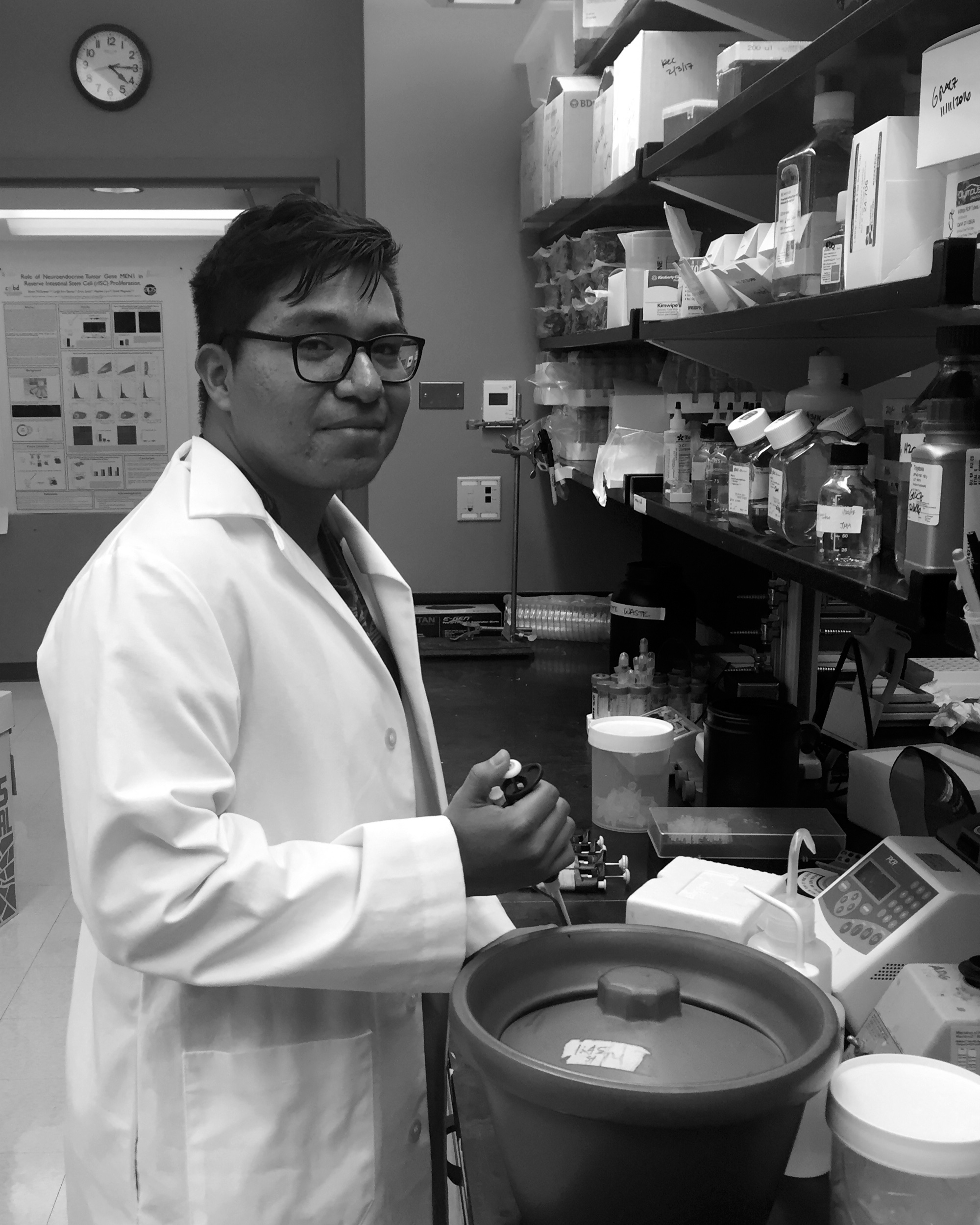 Ismael Gomez  Undergraduate/Research Technician 2016-2018 Current position: Ph.D. student, UNC