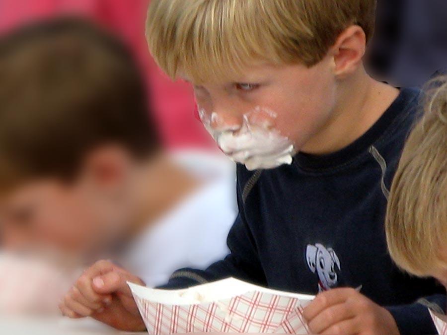 The ice cream eating contest was a blast!  - Wayne, Wellwyn