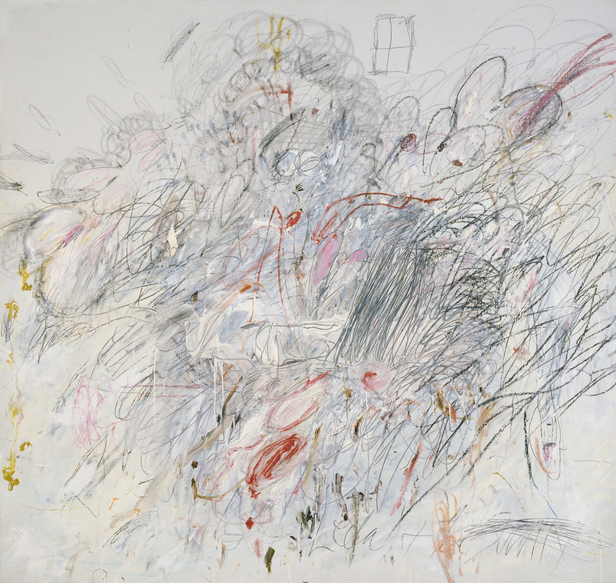 Cy Twombly,  Leda and the Swan , 1962.