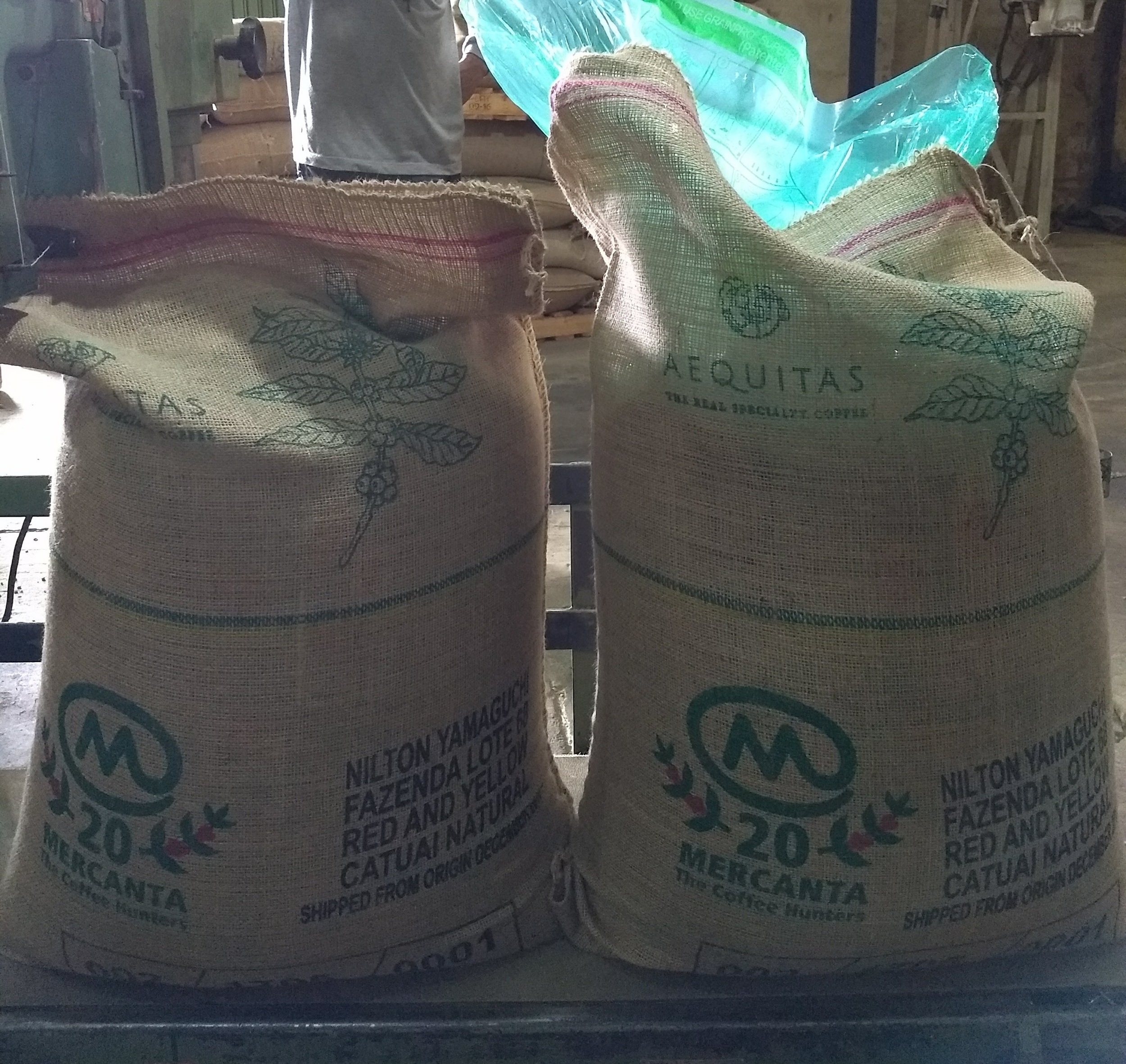 Customized coffee bags