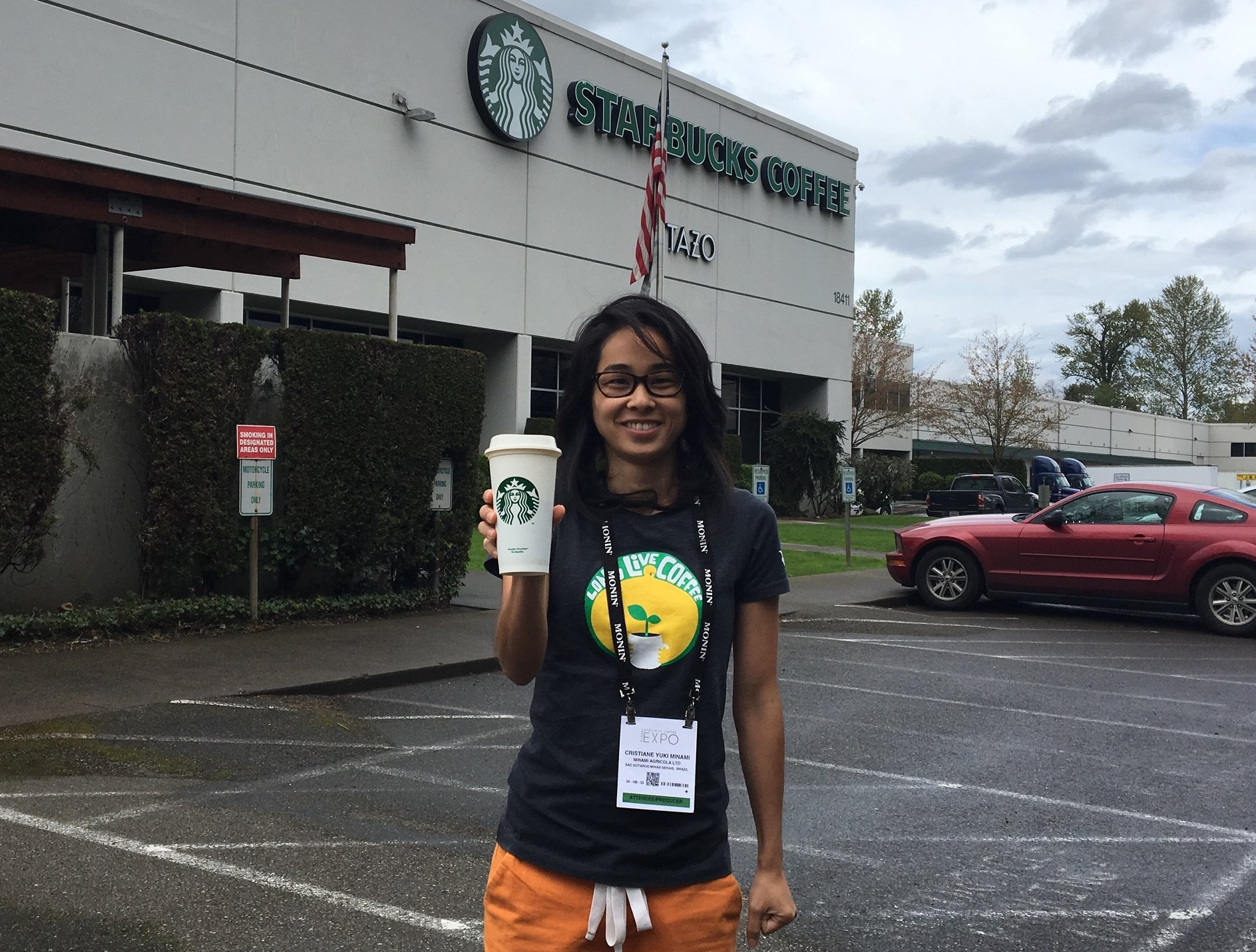 Visit to Starbucks Kent Flexible Plant Tour during 2017 SCA coffee expo