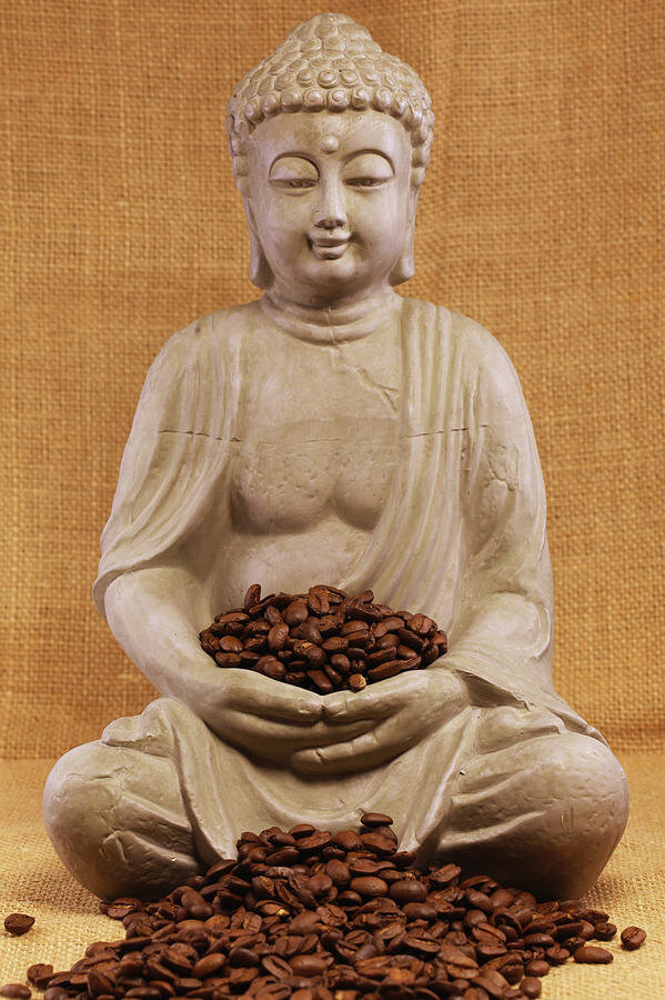 Coffee Buddha  is a photograph by Falko Follert which was uploaded on December 31st, 2012.