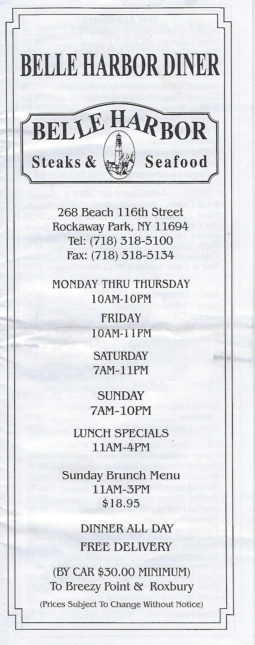 The Castle Rockaway_Belle Harbor Diner