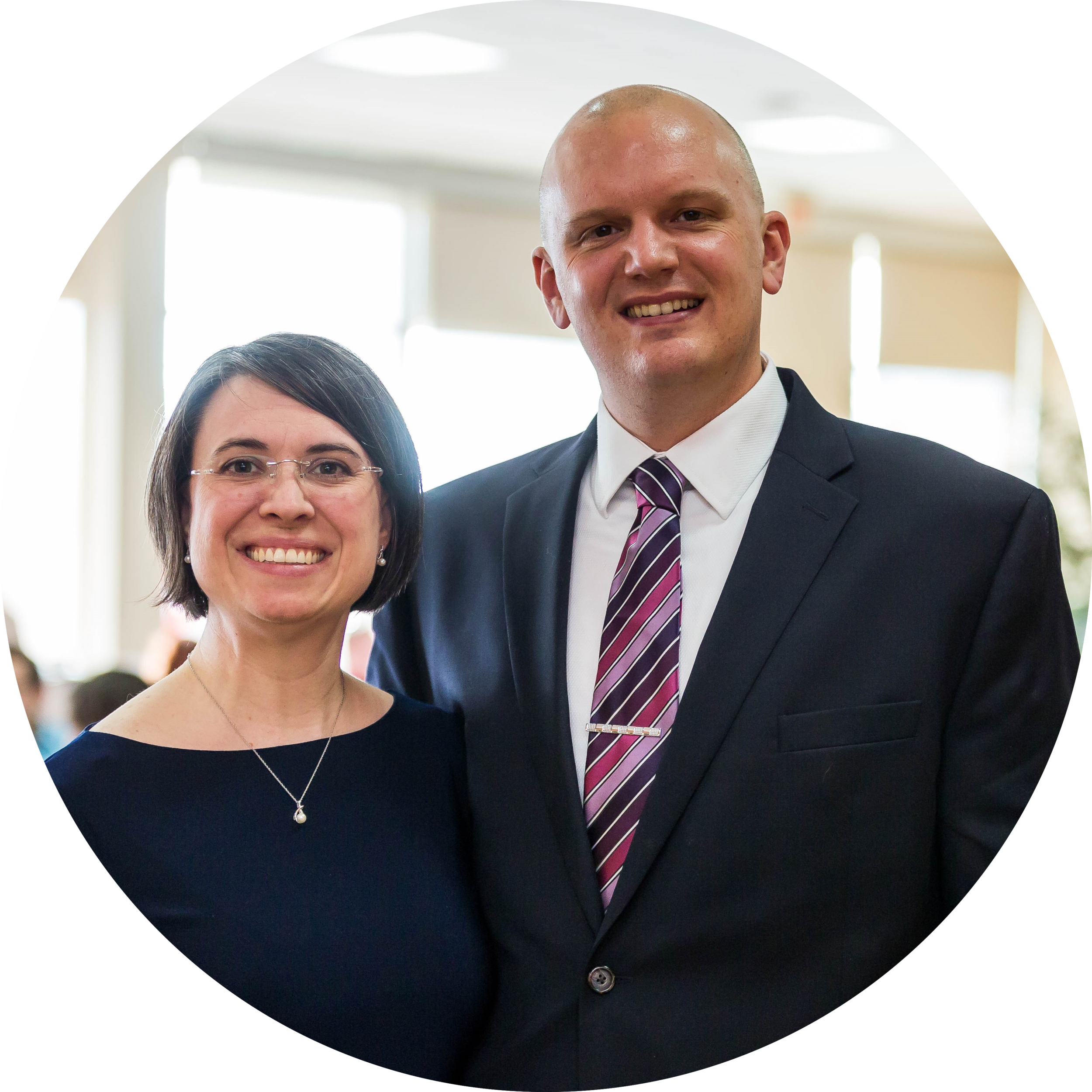 """""""Parish group has been a great chance to connect with new friends and to deepen existing relationships. We feel more connected to the church community by being able to pray for others in our community and knowing that they are praying for us, too."""" - Ted and Sara Ball"""