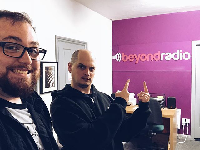 About to be on Another Monday Evening Show on Beyond Radio! Beyondradio.co.uk or 103.5FM in Lancaster and Morecambe! 2-4 EST/7-9 GMT!