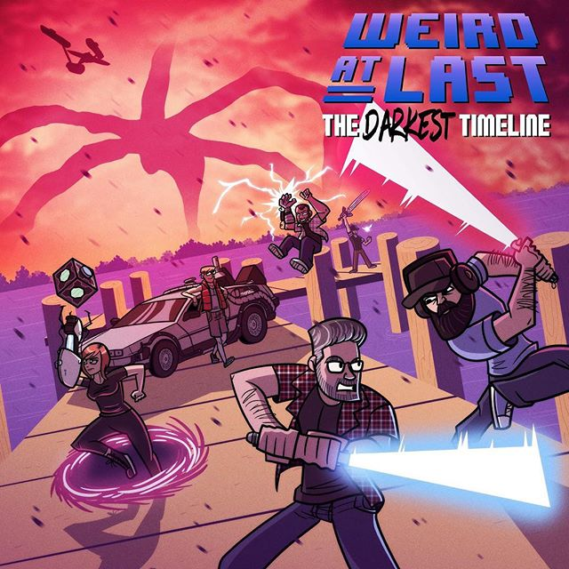 Today's the day! Get our new album The Darkest Timeline wherever you stream or download music! Bandcamp link in profile! #chiptune #poppunk #gameboyguitar #dmg01