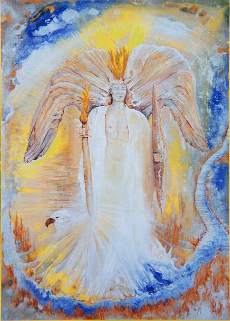 Archangel Michael by Cher Lyn