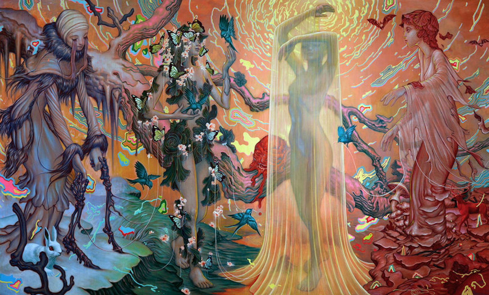 Seasons By James Jean