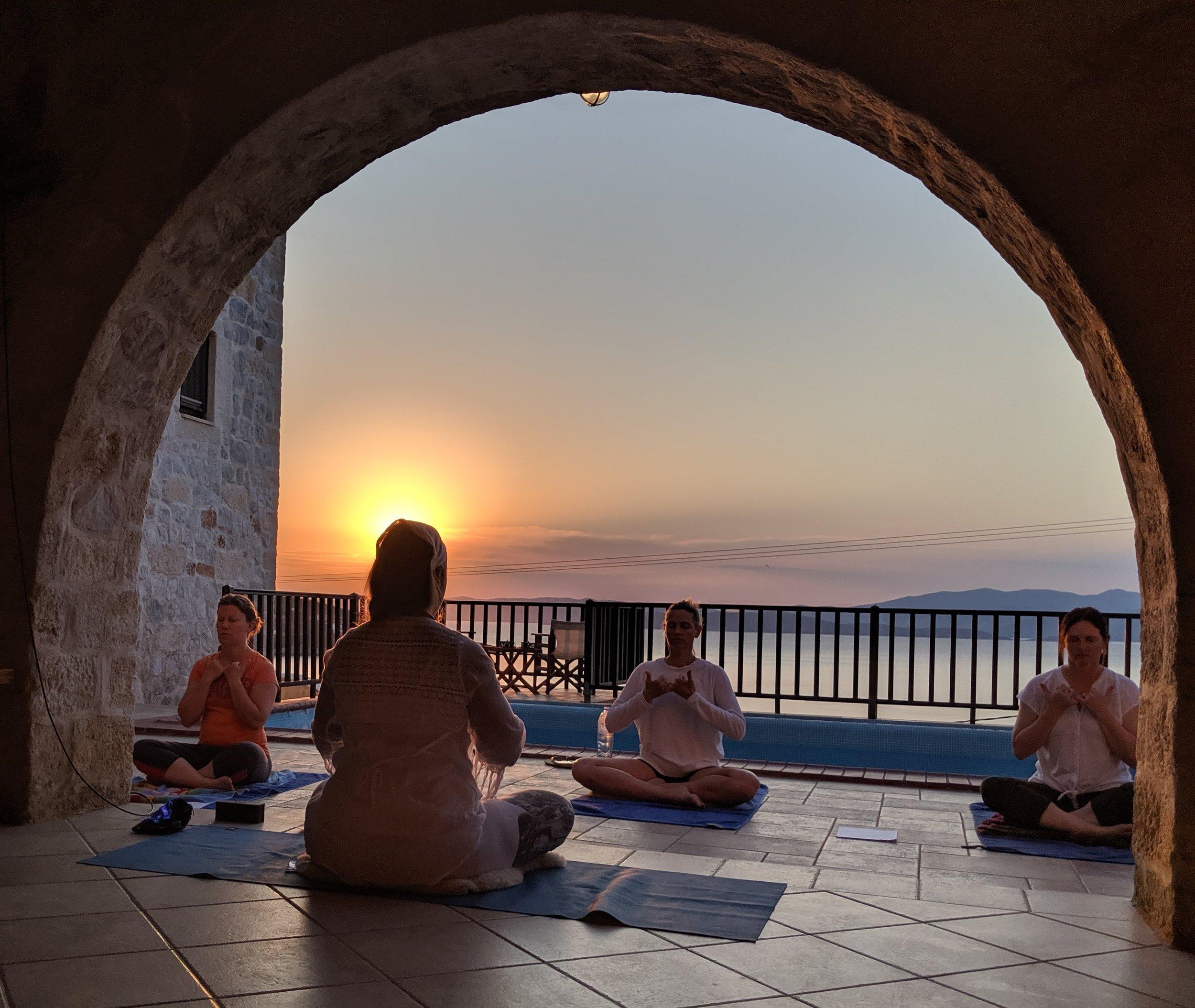 Sunrise Yoga Photo by Robert
