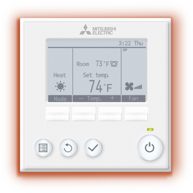 CONTROLS   - Manage your home's cooling and heating with easy-to-use wall-mounted controllers that give you total control over your personal comfort.