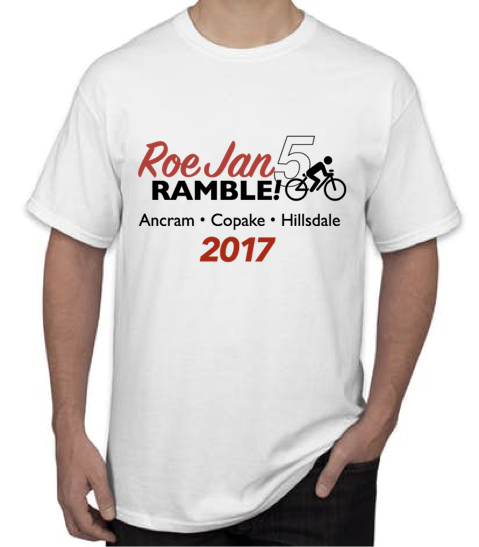 Our 5th Anniversary Commemorative T-Shirt - Pretty special, huh?