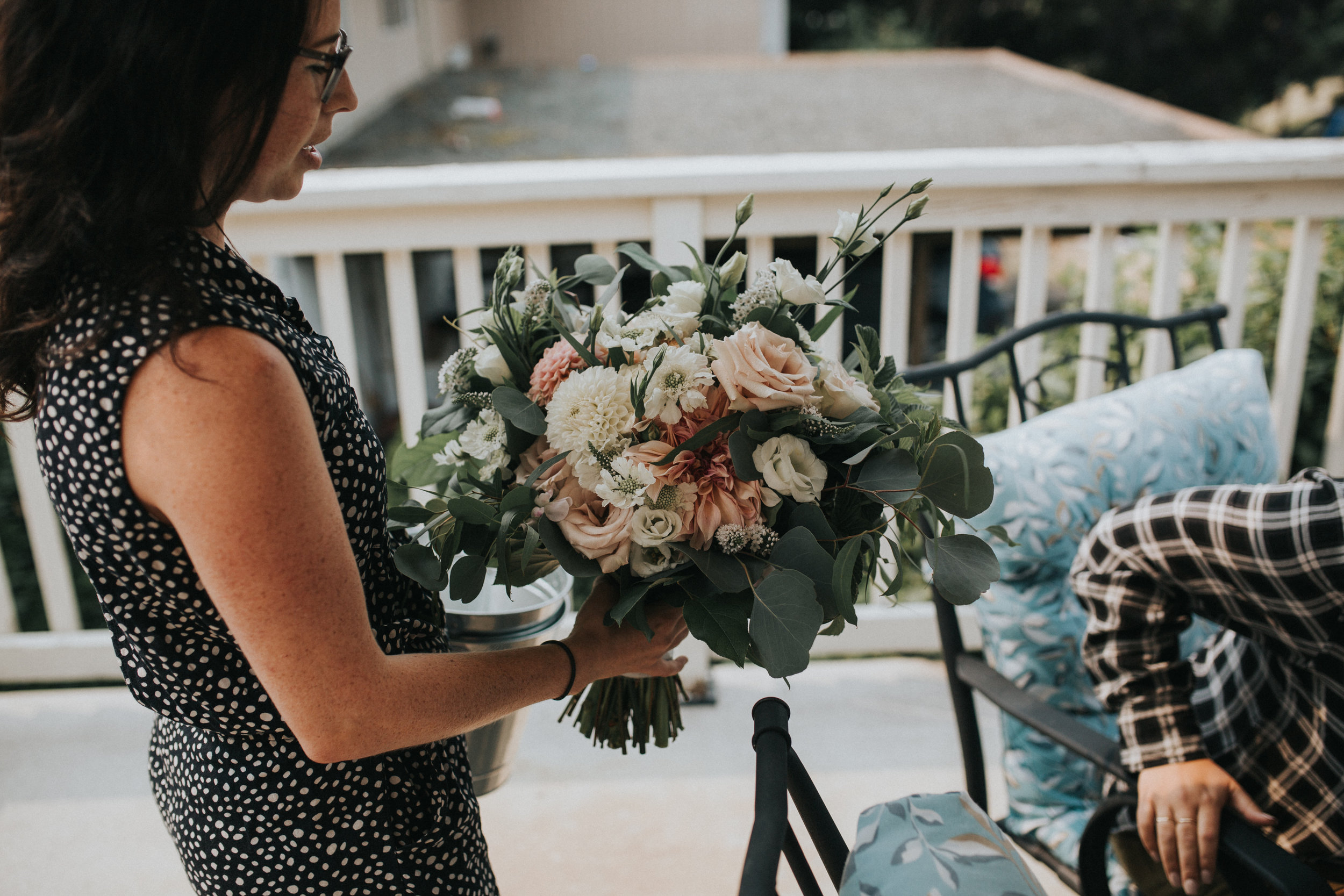 Bridal Bouquet drop off.