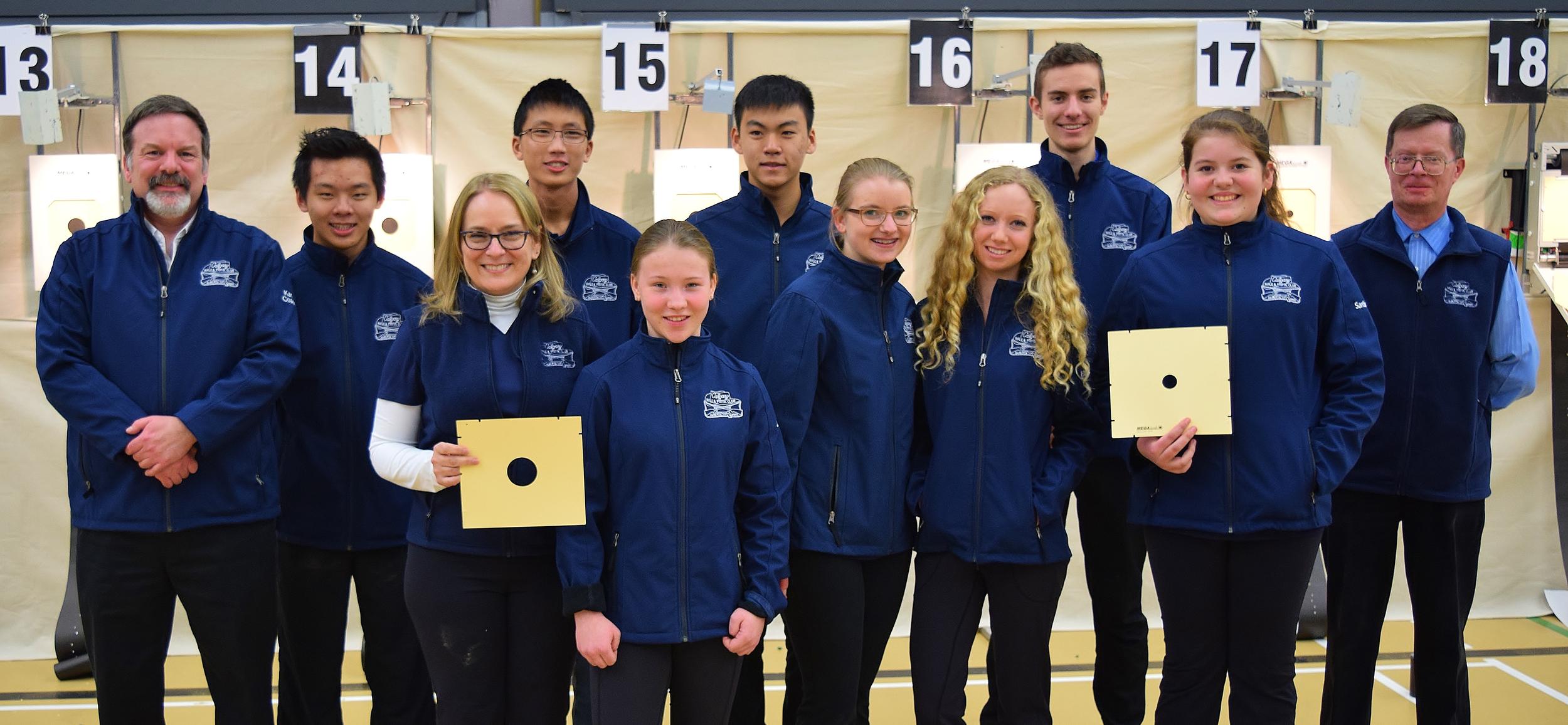 CRPC Junior Team @ 2016 Alberta Air Gun Provincial Championships