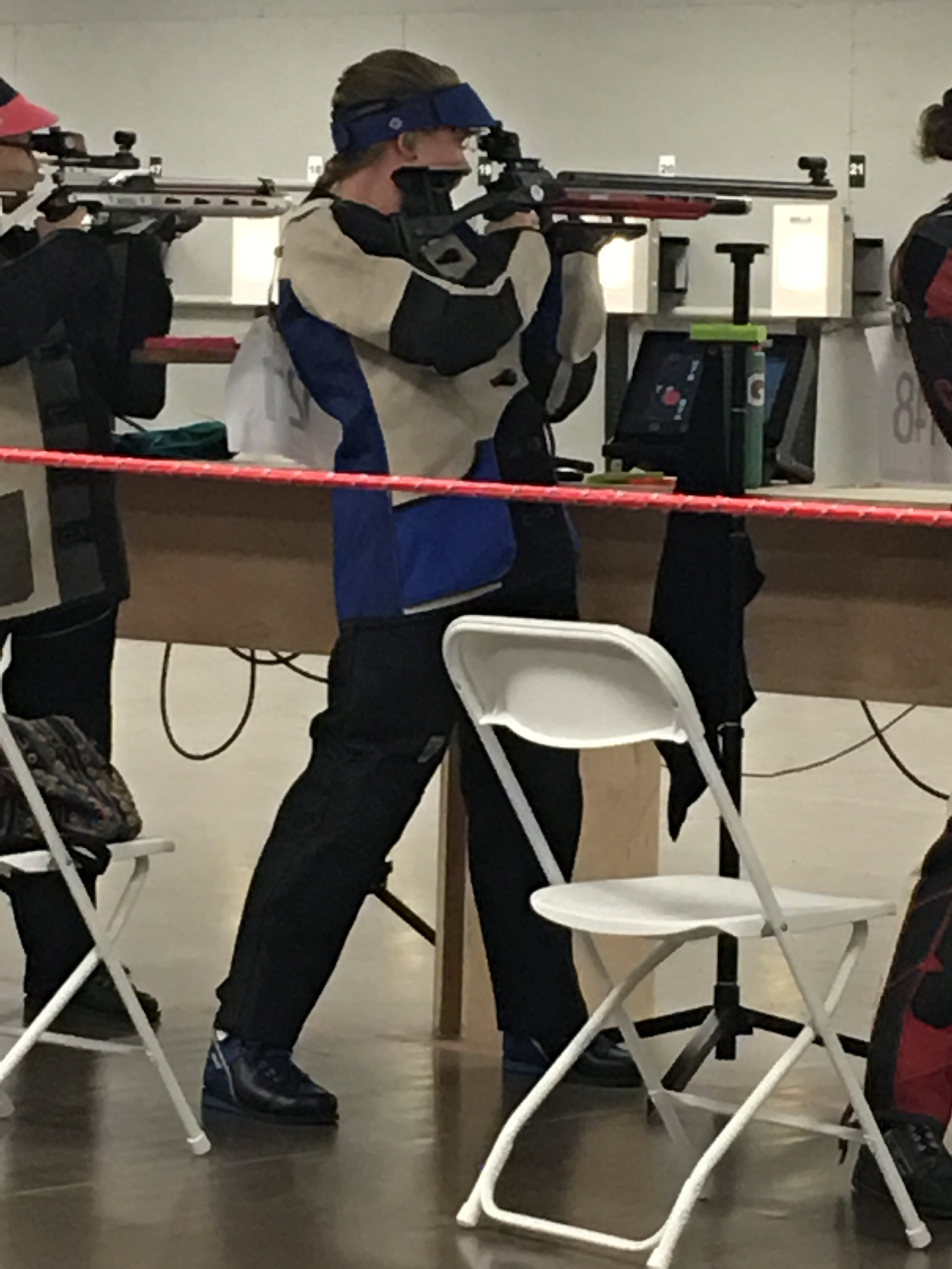 2017 Canadian National Rifle Championships - 10m Air Rifle Women, Cookstown, Ontario Samantha Walstra