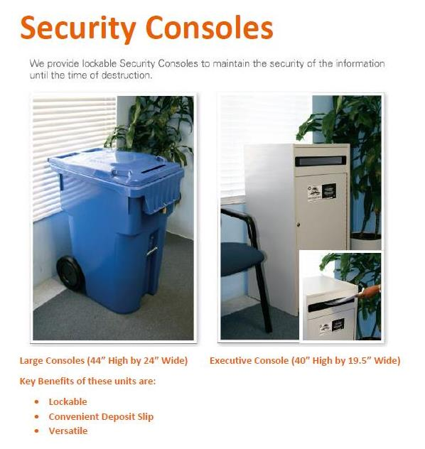 Security Console for Web