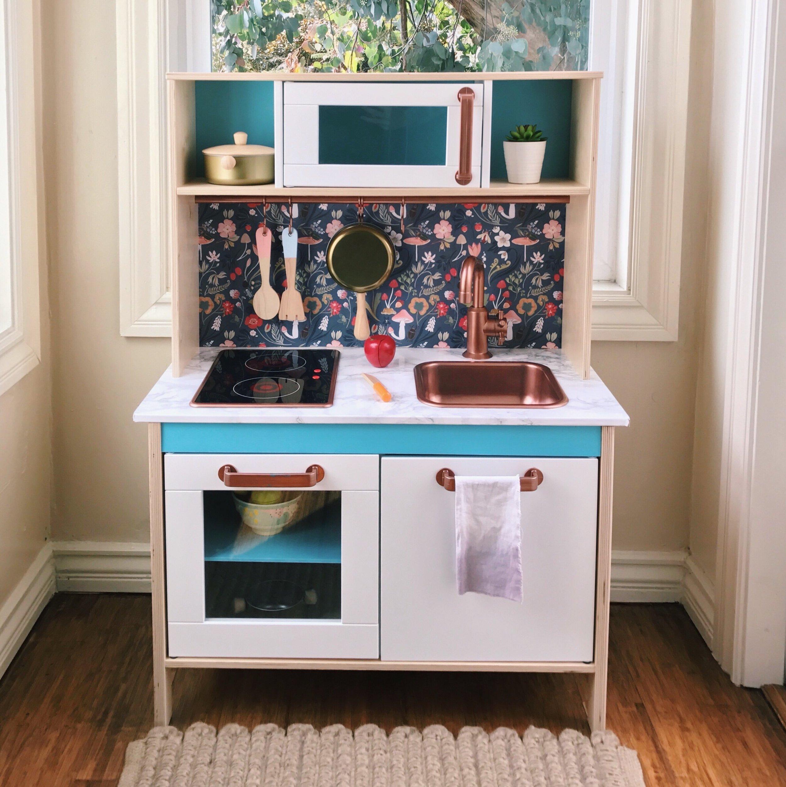 DIY Ikea Play Kitchen | Design Confetti
