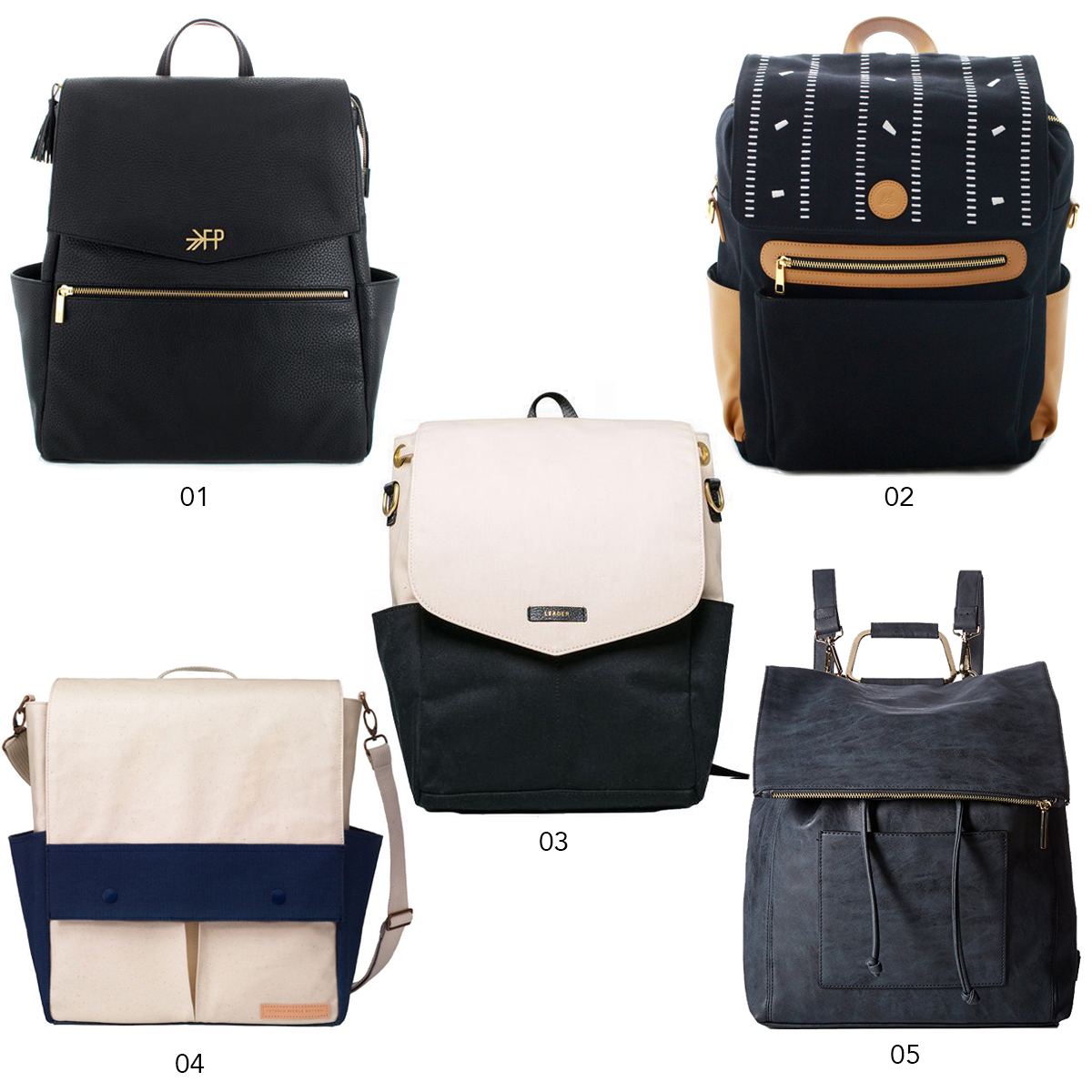 Ten Seriously Stylish Diaper Backpacks | Design Confetti