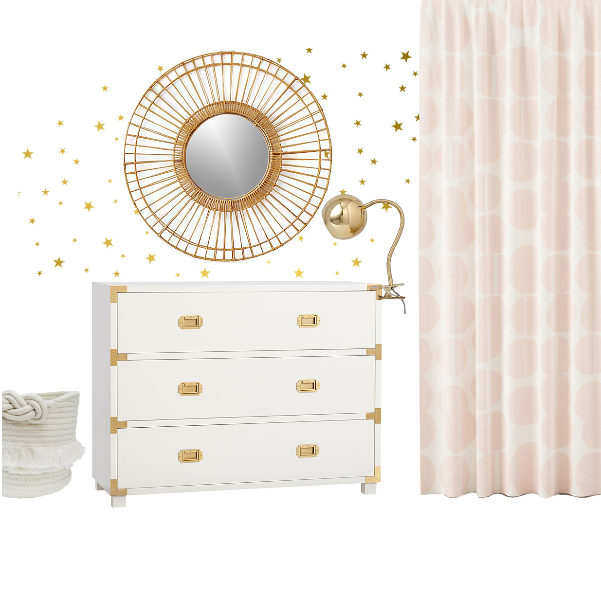 Get the Look: Sophie's Boho Glam Nursery | Design Confetti
