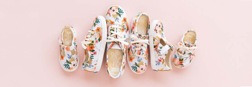 Rife Paper Co x Keds Now in Kid's & Baby | Design Confetti