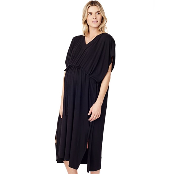 Hospital Gown Black, Ingrid & Isabel, $78 -