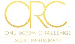 #OneRoomChallenge, Week Five: Removable Wallpaper