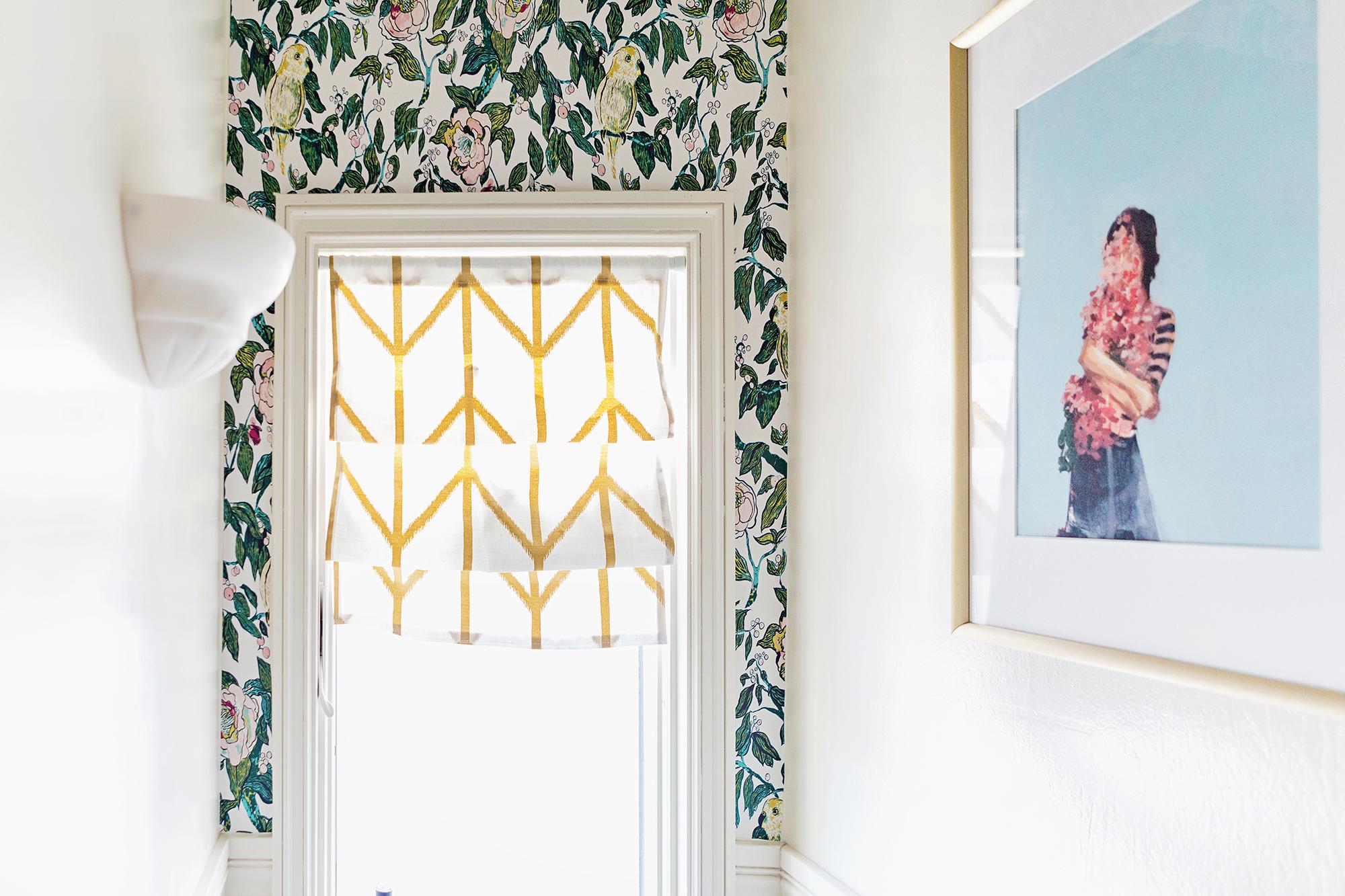 #OneRoomChallenge, Week Five: Removable Wallpaper | Design Confetti