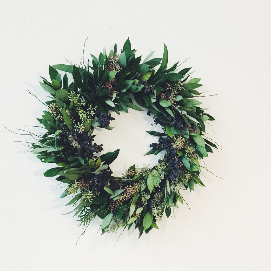 HandCraft Studio School - Create a lushly layered, naturally scented wreath with this Martha Stewart approved Bay Area florist.$80, Hosted by Rachel O'Neal on 12/1 & 12/2