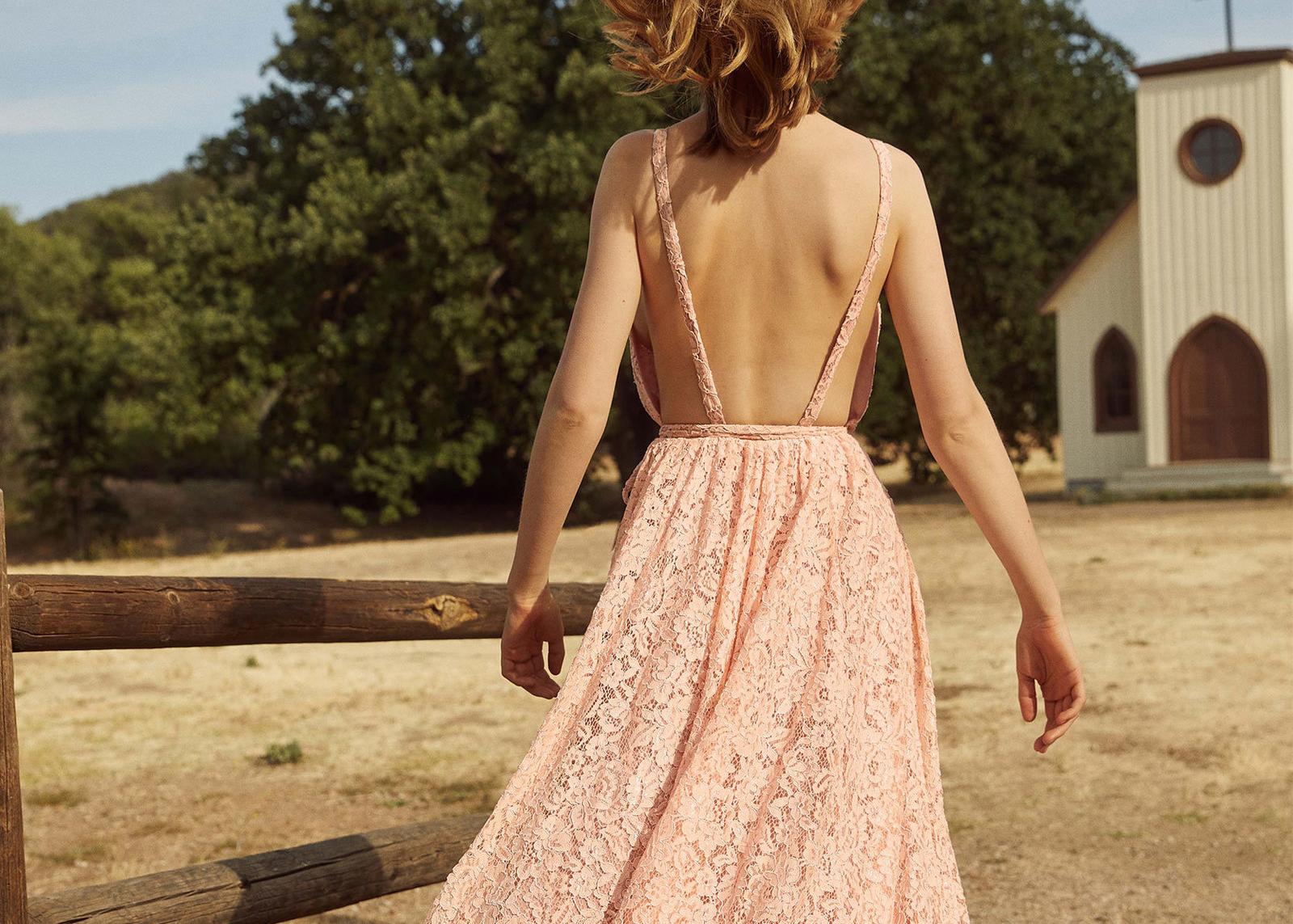 Reformation  Montego Dress  in Valentina $428
