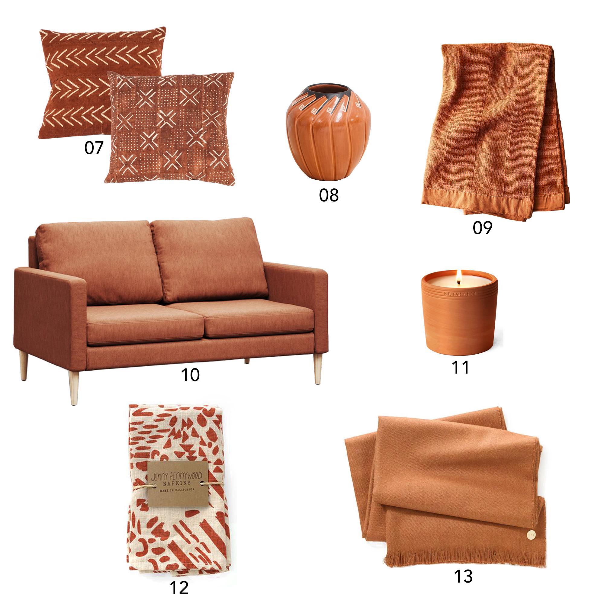 Color Story: Rust | Design Confetti