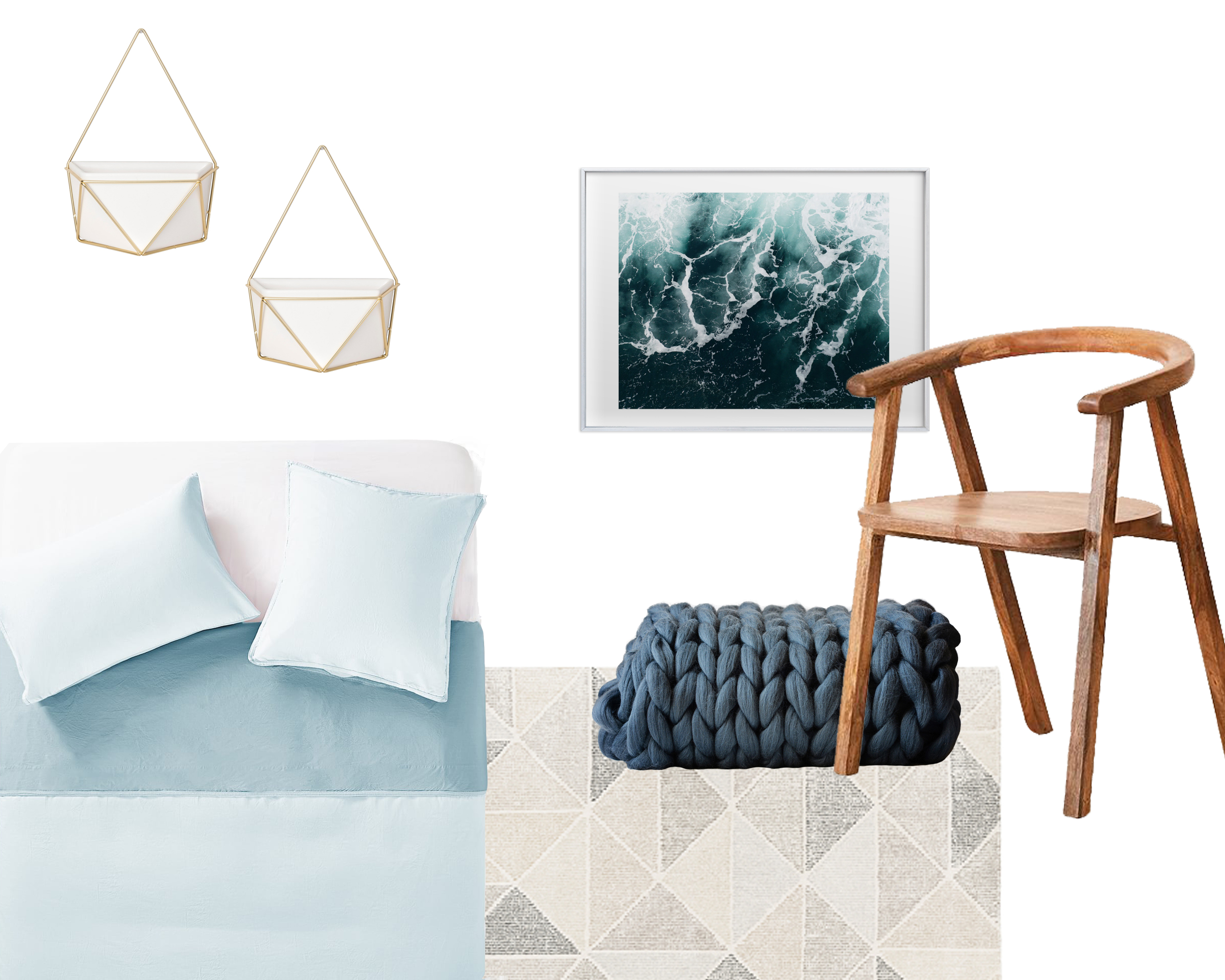 Dorm Room Decor: Scandi Chic | Design Confetti