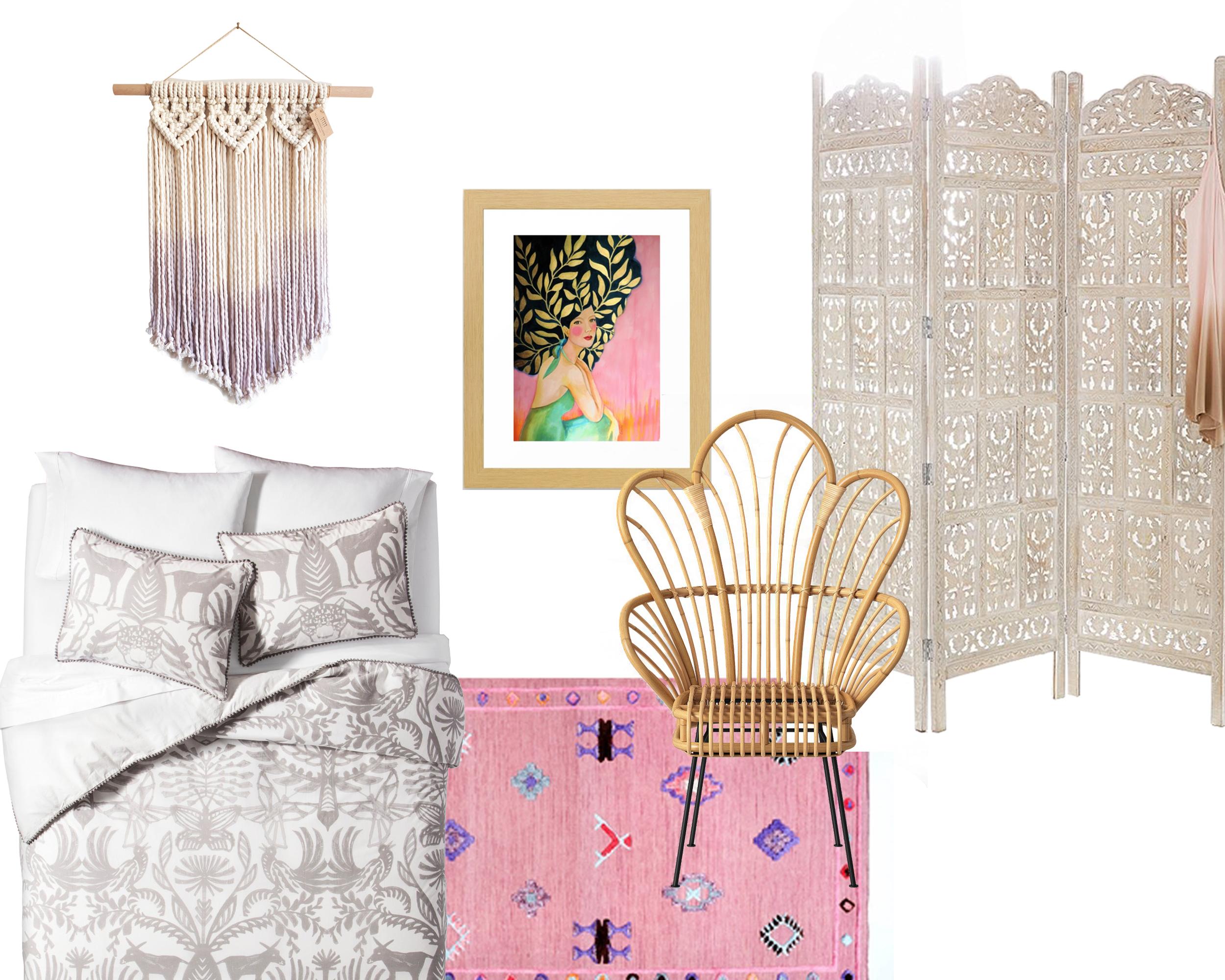 Dorm Room Decor: Eclectic Bohemian | Design Confetti