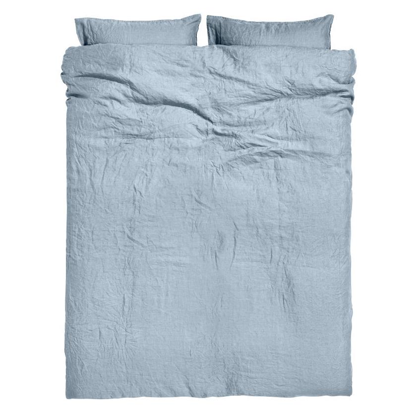 Washed Linen Duvet Cover Set. $129