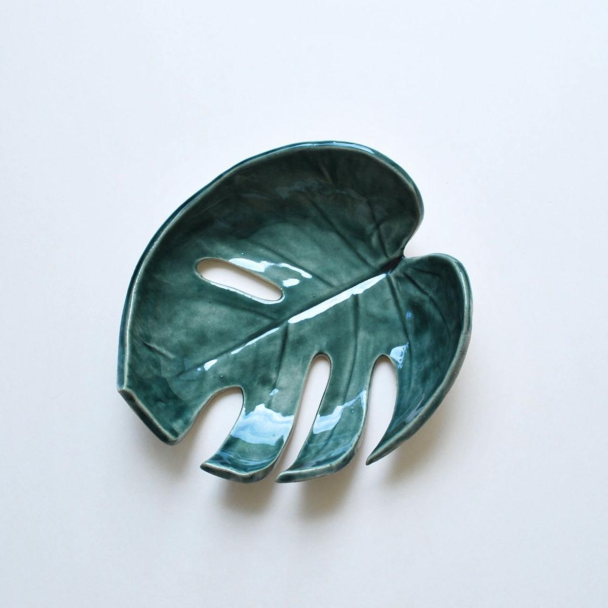 Monstera Leaf Bowl, $40