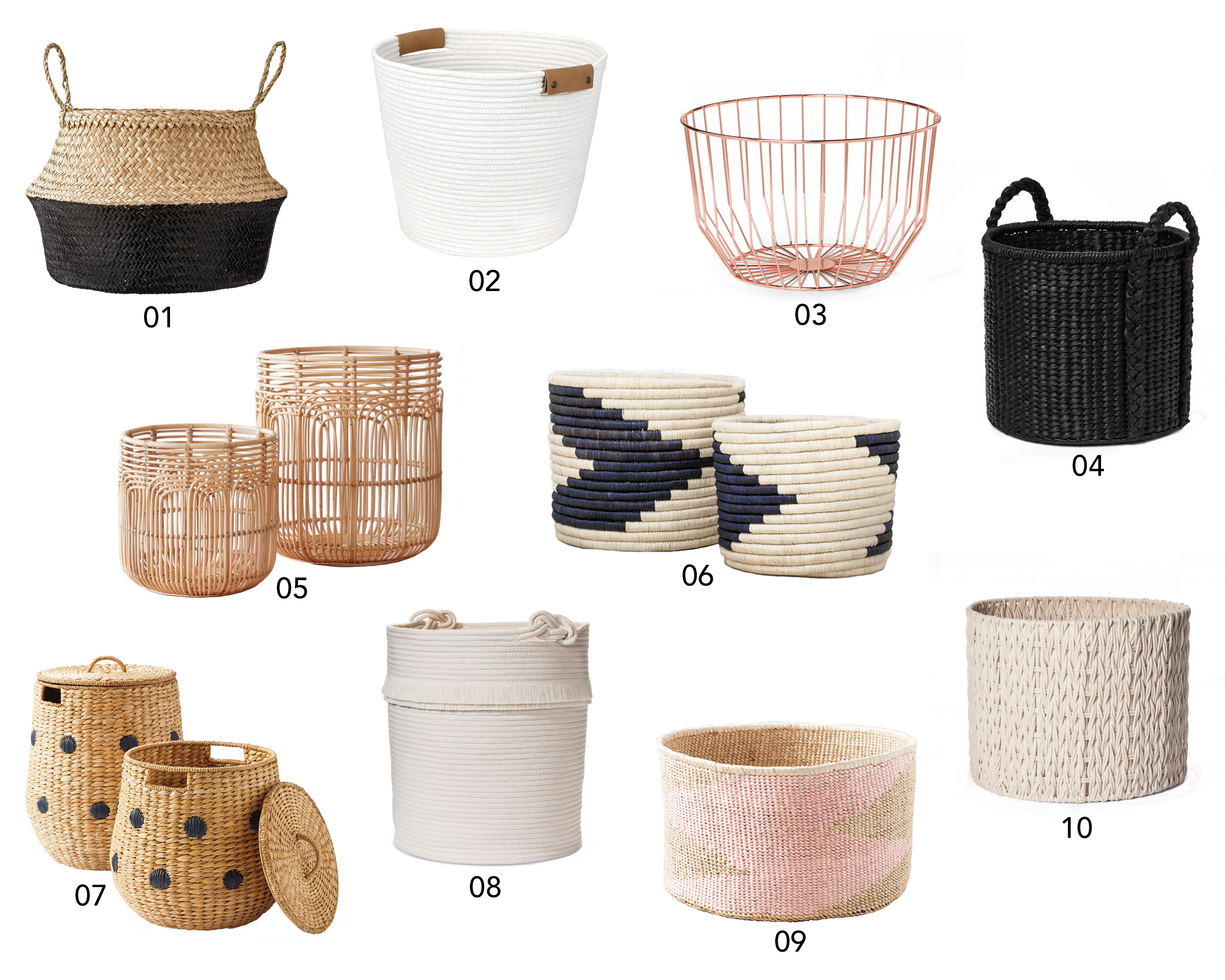 Stylish Baskets to Contain the Mess | Design Confetti