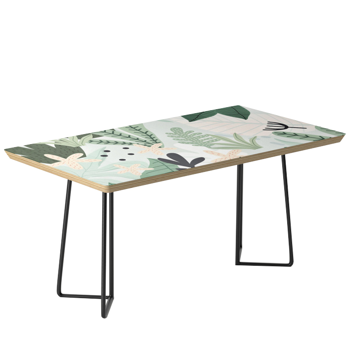 Into the jungle II Coffee Table, Society6, $249 -