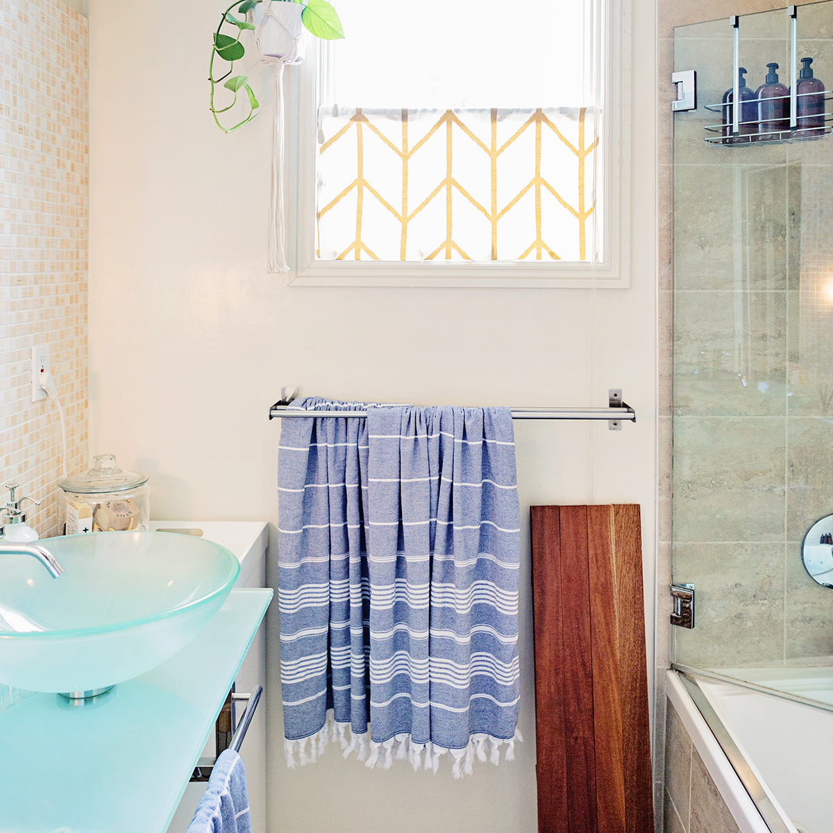 """Untoddlered"" Bathroom Before and After 