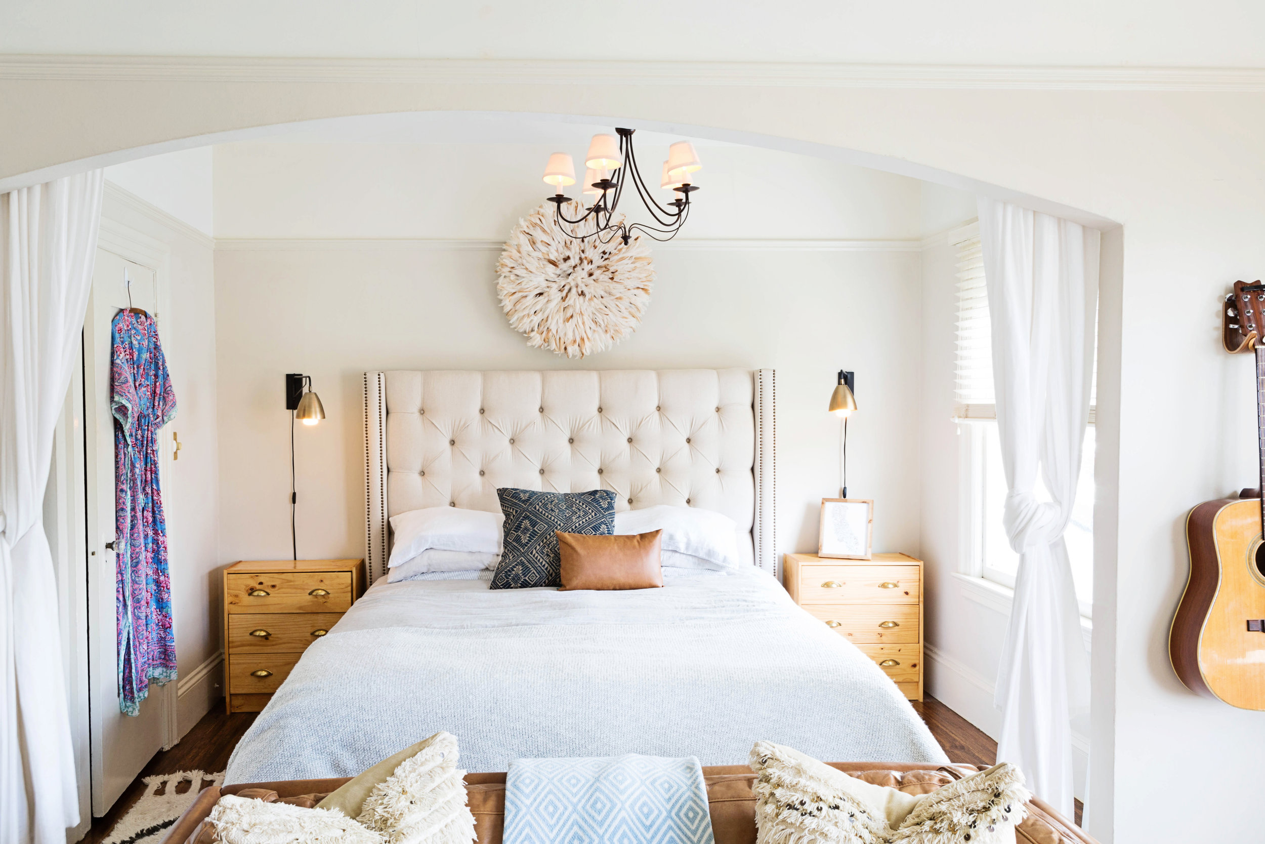#OneRoomChallenge, Week One: A Shared Master Bedroom and Nursery | Design Confetti