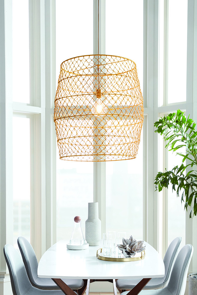 Rope Net Pendant Lamp, $70 -