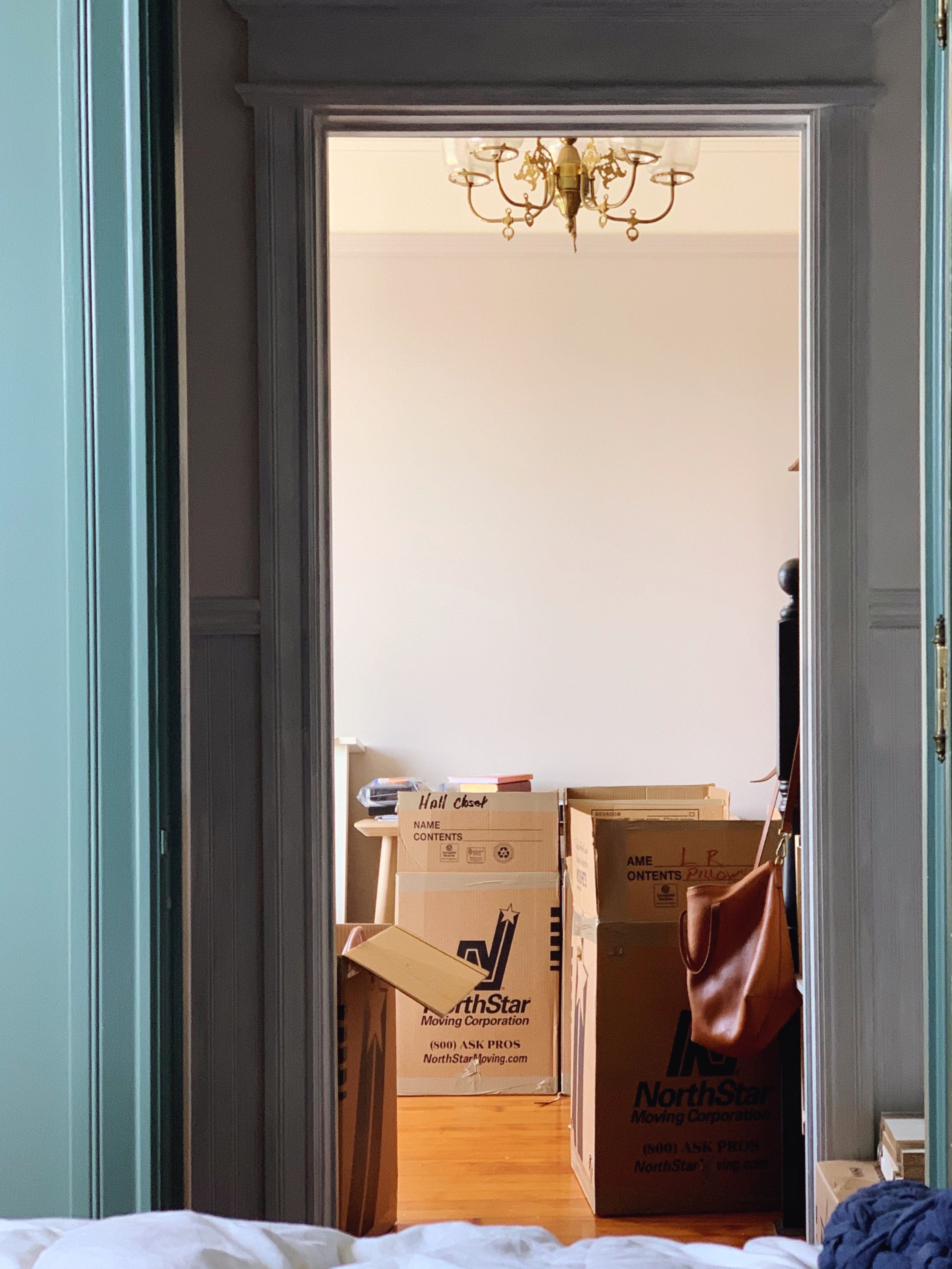 House Update: Help! I'm Buried Under Moving Boxes | Design Confetti