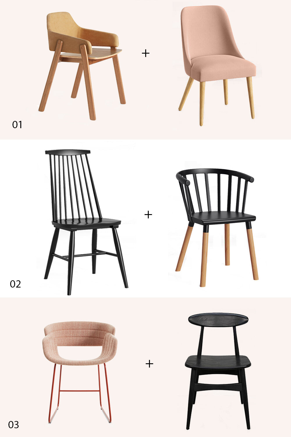 Dining Chair Matches Made in Heaven