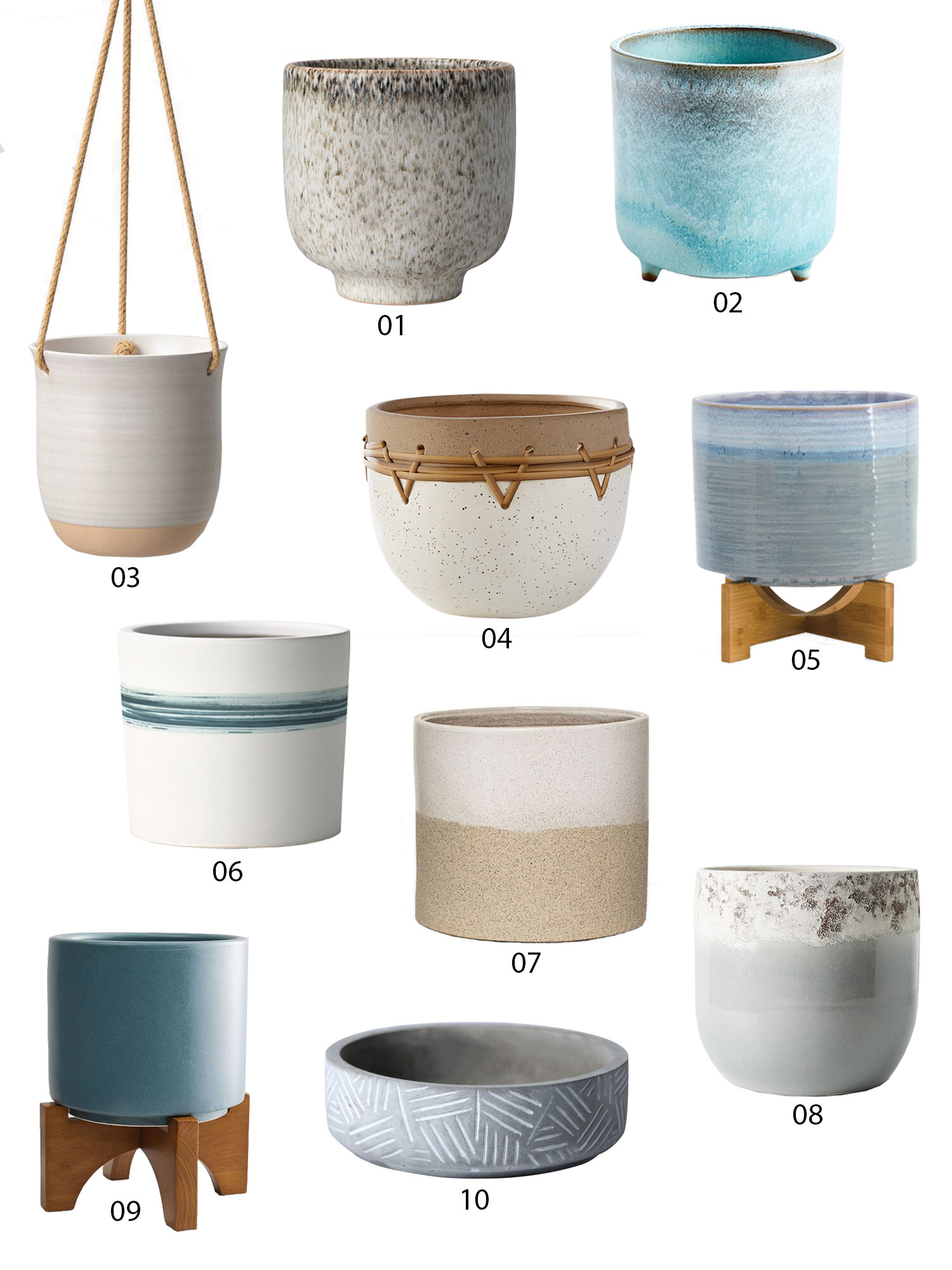 50 Affordable Planters Under $50