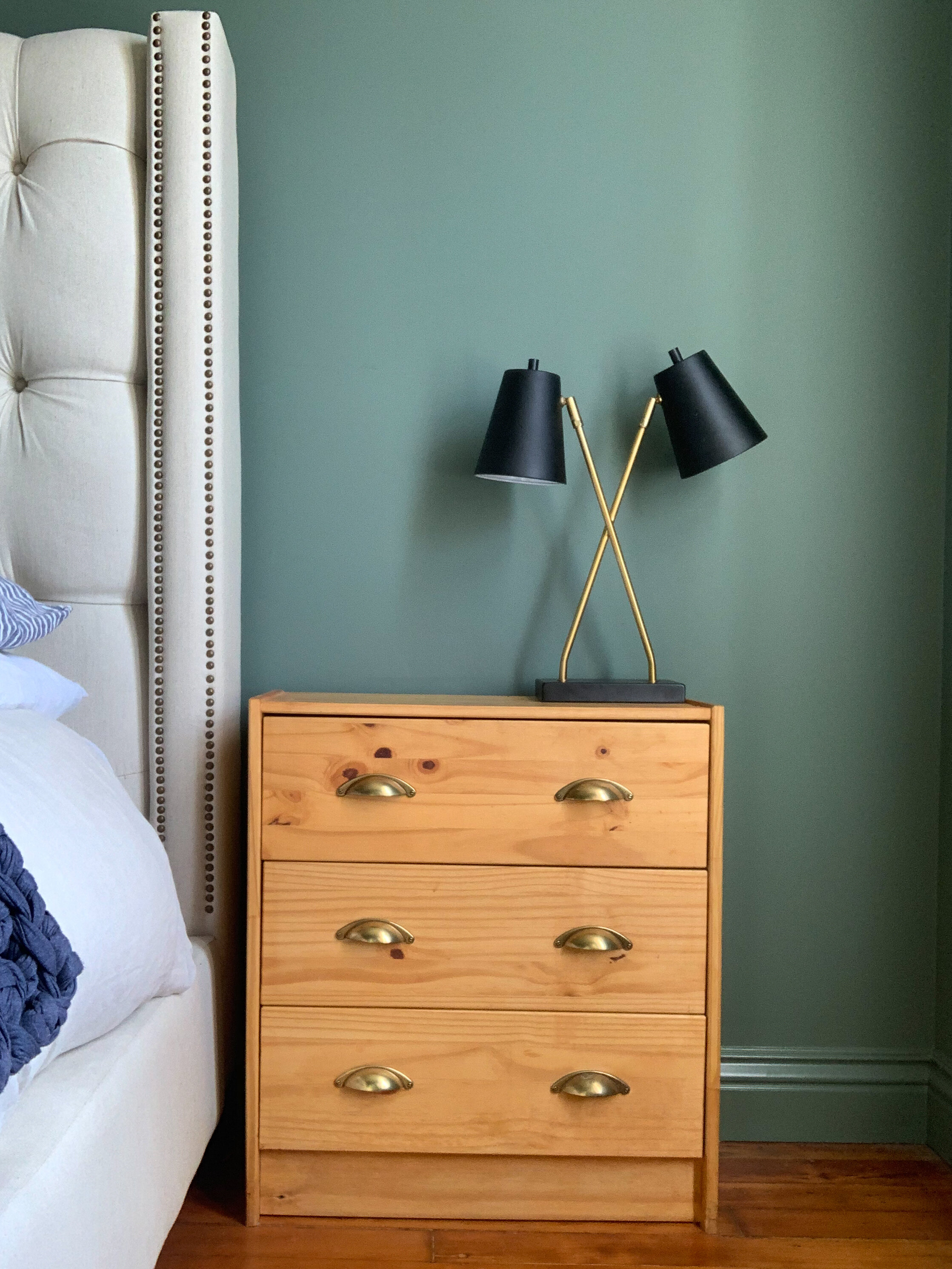 How To Style Your Nightstand Three Ways Blog Design Confetti