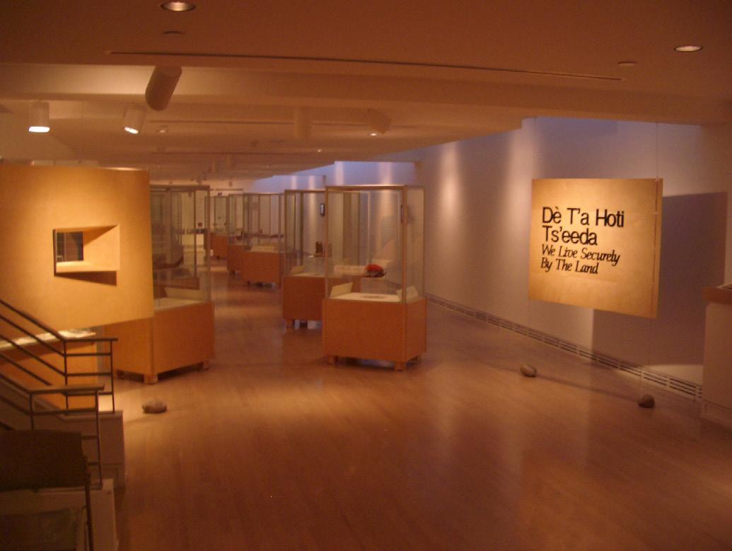 Exhibition in Carleton University Gallery, Ottawa