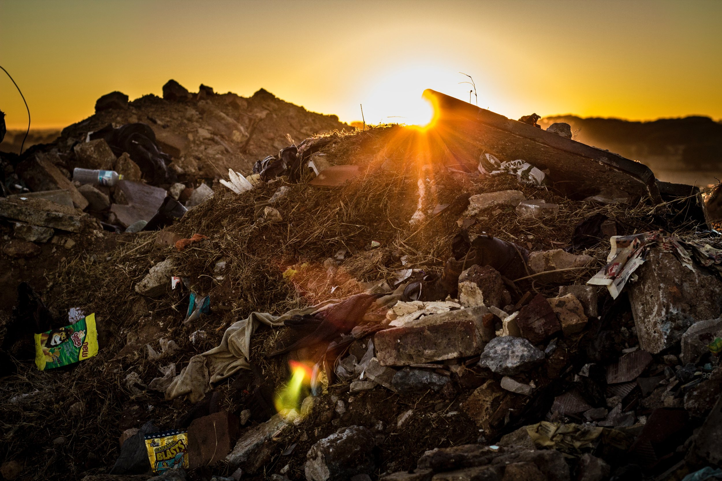 Every year Americans throw 13 million tons of textile material into the landfill.